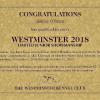 Ashley accrued enough points to get an invitation for Junior Handling at Westminster this year-